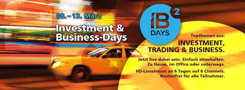 IB - Investment & Business Days 2 Banner